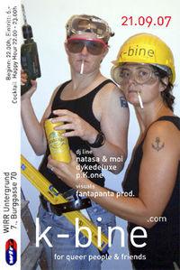 k-bine - for queer people@Club Wirr