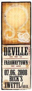 far away town / deville@Becks Bar