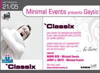 Minimal Events presents Gaytic