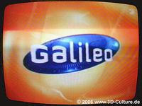Ich glaube nicht an GOTT - ich glaube an GALILEO