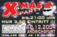 X-Mas Party 2004@Event-Saal