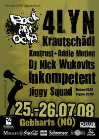 Rock am Ocka Festival 08@Freigelände Gebharts