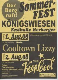Sommer-Fest@Herbergerhalle Königswiesen