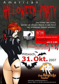 American Halloween Party@Club Heinrichs Tanzbar