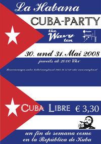 Cuba Party@The Wavy Ten Getränkebörse