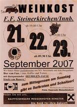 Weinkost FF Steinerkirchen a. Innb.@FF-Haus Steinerk./I