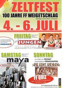 100 Jahre FF Weigetschlag@Weigetschlag