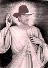 Gruppenavatar von Chuck Norris wirft keinen Schatten, die Wand will nur aussehen wie Chuck Norris