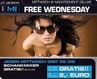 Free Wednesday