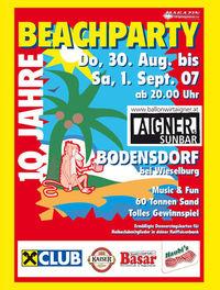 Beachparty 2007@Aigner, Bodensdorf