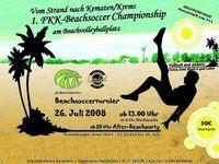 1. Kematner Beachsoccer Cup@Beachvolleyballplatz