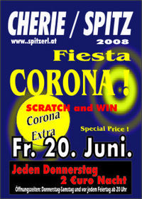 Corona Fiest Party@Tanzcafe Cherie Spitz