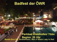 Badfest der Österreichischen Wasser@Parkbad Waidhofen an d