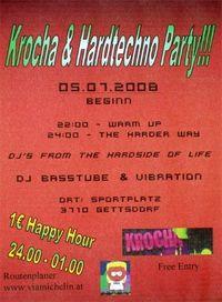Krocha & Hardtechno Party@Sportplatz