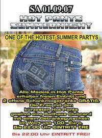 Hotpants Summernight@Ballhaus Freilassing