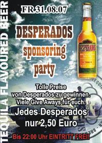 Desperados sponsoring Party@Ballhaus Freilassing