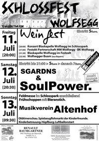Frühschoppen Schlossfest@Schloss Wolfsegg