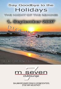 Say Goodbye to the Holidays@M7Seven Clublounge