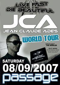 J C A   aka  Jean Claude Ades LIVE@Babenberger Passage