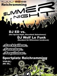 Summer Night@Sportplatz
