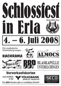 Schlossfest Erla@Schloßpark in Erla
