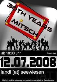 30th years Mitsch@Landl [at] Seewiesen