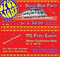 Spotlight XV - Disco-Boat-Party@MS Prinz Eugen