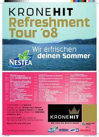 Kronehit Refreshment Tour 2008@Achensee Badestrand