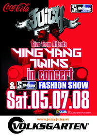 juicy presents: Ying Yang Twins live in concert!