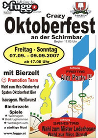 Oktoberfest - Alm Party@Fuggo Nightlife
