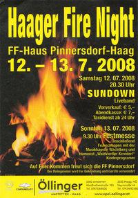 Haager Fire Night@FF Haus Pinnersdorf