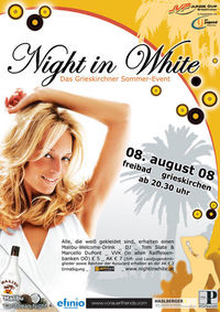Night in White 2008@Freibad