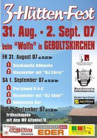 3-Hüttenfest Geboltskirchen@beim Wolfn-Bauer