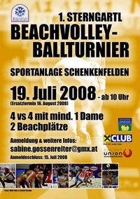 1. SternGartl - Beachvolleyballturnier@Sportanlage Schenkenfelden