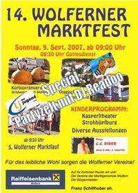Marktfest Wolfern@Marktplatz Wolfern
