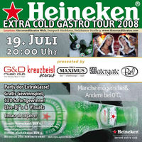 Heineken Ice Cold Tour 2008@Sound Theatre