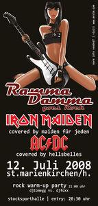 Ramma Damma goes Rock 08@Stocksporthalle