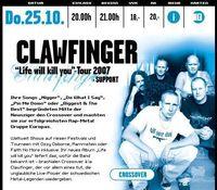 Clawfinger + Support@KIKAS Aigen/Schlägl