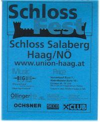 Schlossfest Haag@Schloss Salaberg