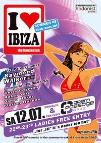 I love Ibiza@Opernpassage
