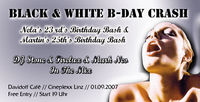 Black & White B-Day Crash@Cineplexx Linz - Davidoff Café