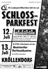 Schlossparkfest@Schlosspark Kröllendorf