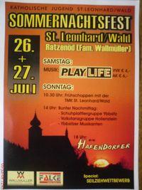 Sommernachtsfest St.Leonhard/Wald@Wallmüller Zimmerei und Dachdeckerei