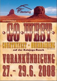 Go West 2008 - Frühshoppen@Katzjaga-Ranch