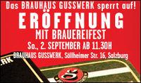 Eröffnung Brauhaus