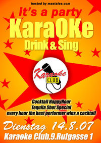 Karaoke - sing and drink@Karaoke Club
