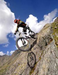 Mountainbiken nicht radfahren !