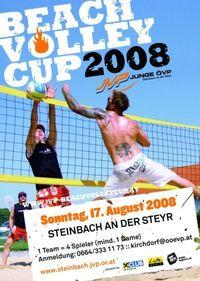 Beachvolley-Cup Steyrtal@Zentrum von Steinbach an der Steyr