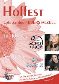 Hoffest Cafe Zeitlos@Cafe Zeitlos