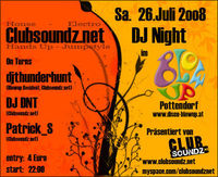 Discothek Blow Up am 02.02.2019: Disco Night Fever in